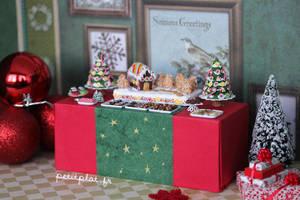 Christmas Dessert Table by PetitPlat