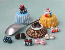 Wonky Cakes Jewelry by PetitPlat