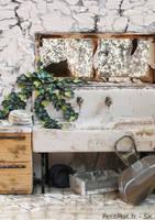 Miniature Abandoned Kitchen by PetitPlat