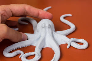 Octopus Sculpture by PetitPlat