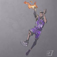 Buddy on Fire by leopoldio