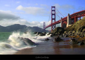 Golden Gate Bridge by KoncalStudio