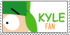 Kyle fan stamp by kylefanstamp1
