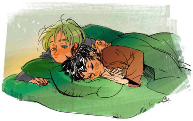 [Drarry] Stay one night in Slytherin by huanGH64