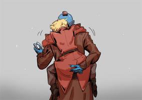 Yondu and Peter by huanGH64