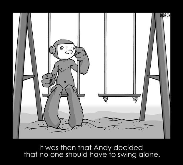 Andy Swings Alone by deaddays