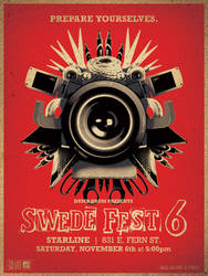 Swede Fest 6 Poster by deaddays
