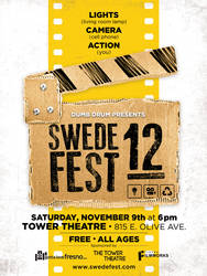 Swede Fest 12 Poster by deaddays