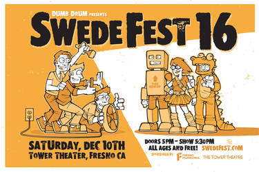 Swede Fest 16 Poster by deaddays