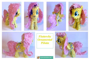 Fluttershy Ornamental Pinata by C-quel