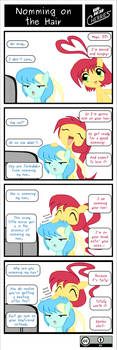 SDC - Nomming on the Hair by C-quel