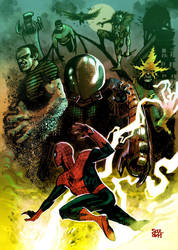 DnD-Paris SINISTER-SIX-color-by-Soul by Soul-the-Awkward