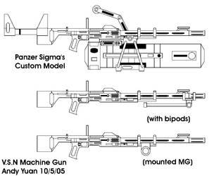 Nasty Ass Machine Guns by c-force