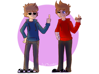 Tom and Tord by OwlThursday