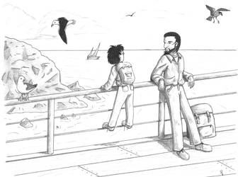 Harry Potter: On the ferry by starryeyed-nz