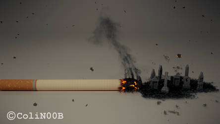 Smoking can end deadly by ColiN00B