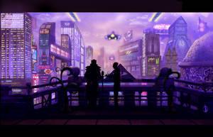 Cityscape by Dardagan