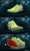 Nike Zoom T7 football shoes by PionierUK
