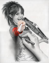 Lindsey Stirling in 3D by chitoseno