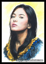 2nd Song Hye Kyo by imuya