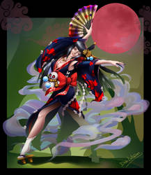 Onmyoji Contest Entry by Dido-Antares