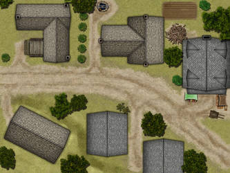 Small Village by Lanerso