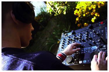 DJ Mixing by sapphiretiger-stock