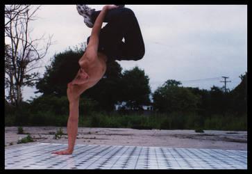 Backyard Breakdancing 2 by sapphiretiger-stock