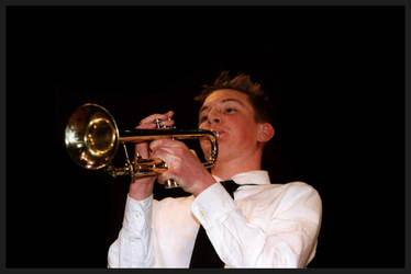 Trumpet Player by sapphiretiger-stock