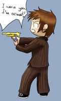 Doctor Who - watergun by Nie-Nie7