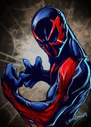 Spiderman2099 by glencanlas