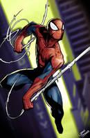 Spiderman swing by glencanlas