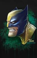 Wolverine portrait by glencanlas