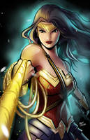 Wonder Woman by glencanlas
