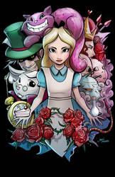 Alice in wonderland by glencanlas