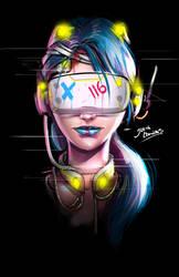 virtual reality by glencanlas
