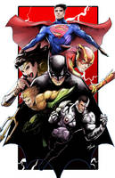 Justice league by glencanlas