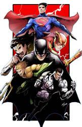 Justice league by glencanlas