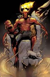 Hellboy by glencanlas