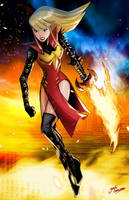 Magik (Phoenix force) by glencanlas