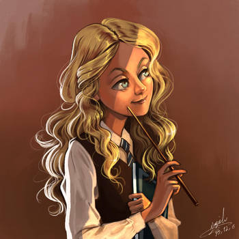 Luna Lovegood by Maggy-P