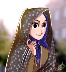 Persian Woman by Maggy-P