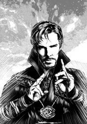 Doctor Strange by marpamartins