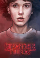 Eleven (Stranger Things) by marpamartins