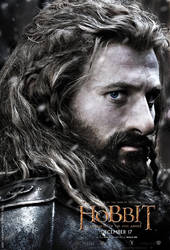 Poster Fili 01 - The Hobbit: Battle of Five Armies by Aeglys