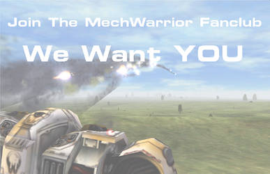 Promotional Sign by Mechwarrior-fc