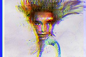 Watercolor Girl by emiya89