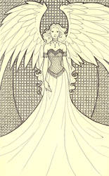 Angel - Jiana by Saphriel